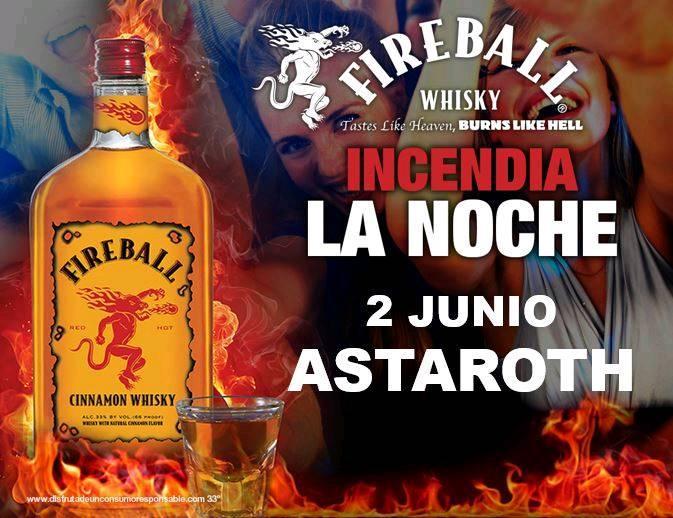 Astaroth Fiesta Fireball Salamanca Junio 2018