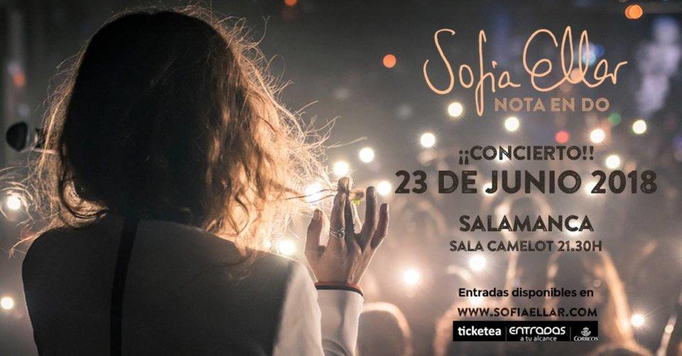 Camelot Sofía Ellar Salamanca Junio 2018