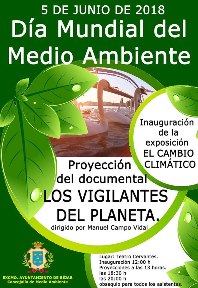 Teatro Cervantes Día Mundial del Medio Ambiente Béjar Junio 2018