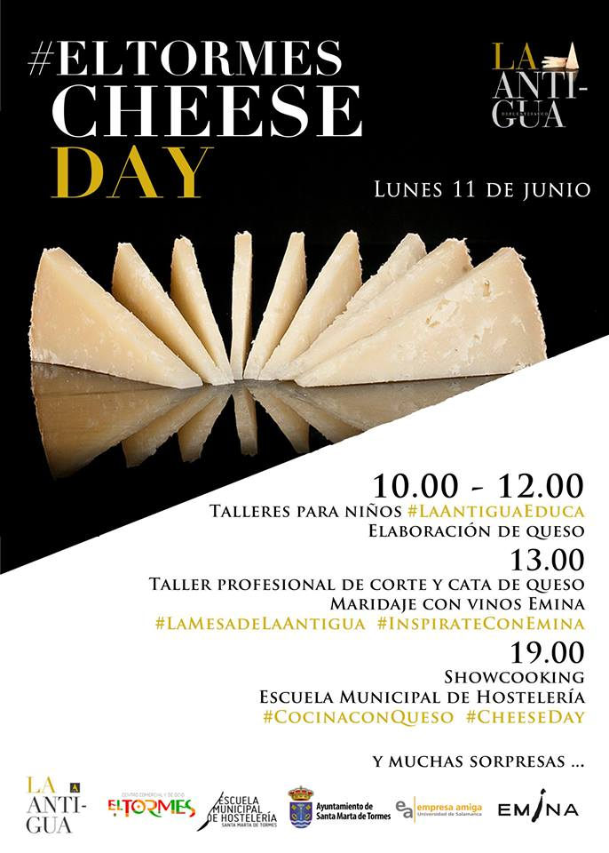 Centro Comercial El Tormes Cheese Day Santa Marta de Tormes Junio 2018