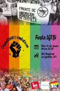 El Rastrel Fiesta LGTBI Salamanca Junio 2018
