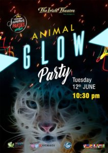 The Irish Theatre Animal Glow Party Salamanca Junio 2018