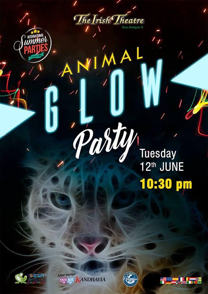 The Irish Theatre Animal Glow Party Salamanca Junio 2018