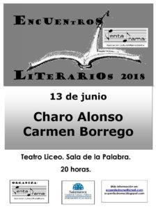 Teatro Liceo Charo Alonso y Carmen Borrego Pentadrama Salamanca Junio 2018