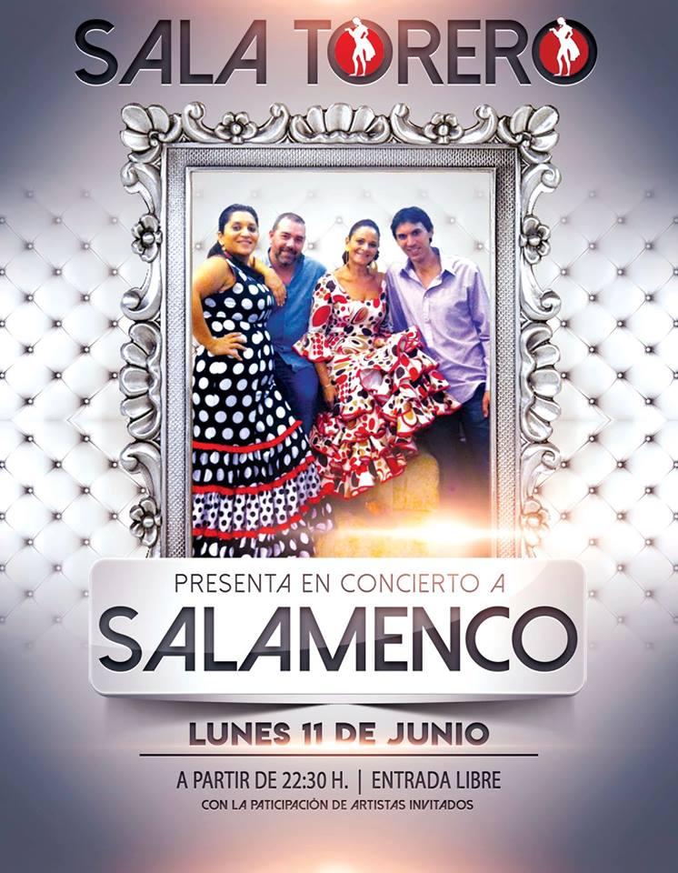 Sala Torero Salamenco Salamanca Junio 2018