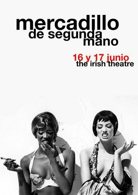The Irish Theatre Mercadillo de Segunda Mano Salamanca Junio 2018