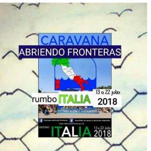 Espacio Almargen Caravana Abriendo Fronteras Salamanca Junio 2018