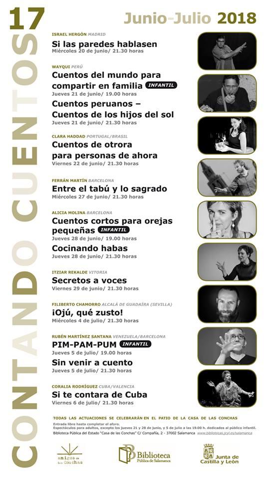 Casa de las Conchas Contando Cuentos 17 Salamanca