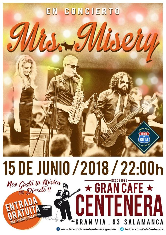 Centenera Mrs. Misery Salamanca Junio 2018