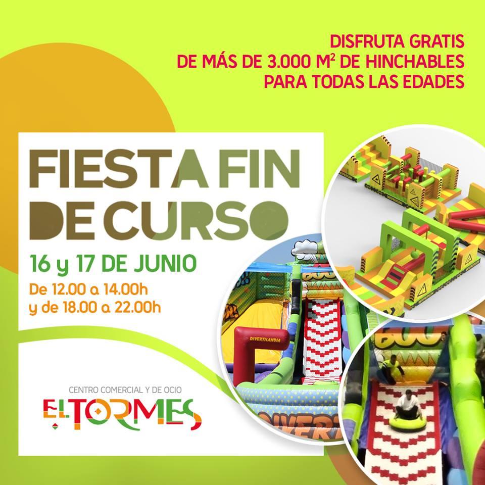Centro Comercial El Tormes Fiesta de Fin de Curso Santa Marta de Tormes Junio 2018