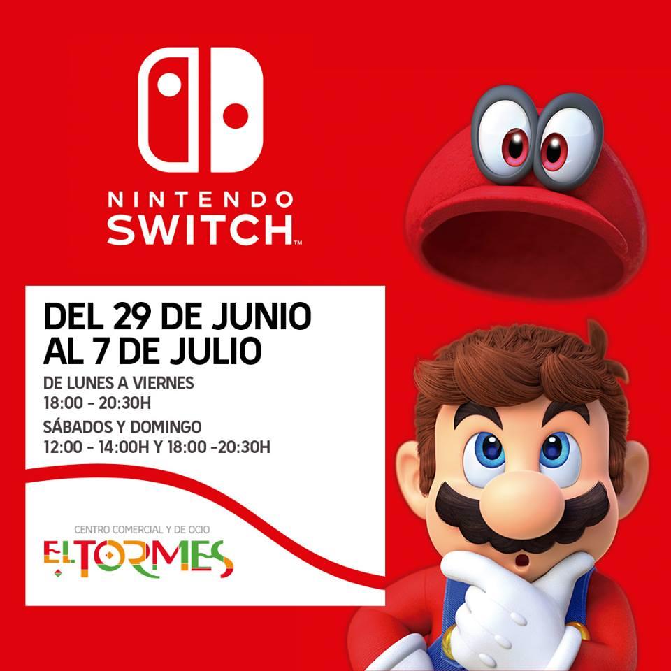 Centro Comercial El Tormes Nintendo Switch Santa Marta de Tormes Junio julio 2018