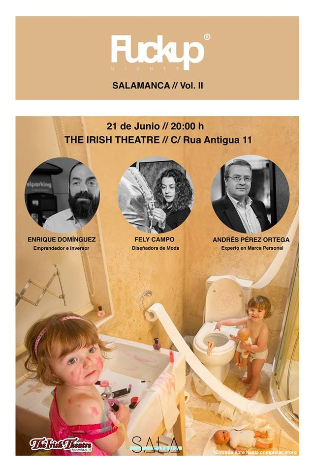 The Irish Theatre Fuckup Nights Salamanca Junio 2018