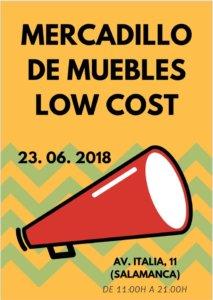 Salamanca Mercadillo de Muebles Low Cost Junio 2018