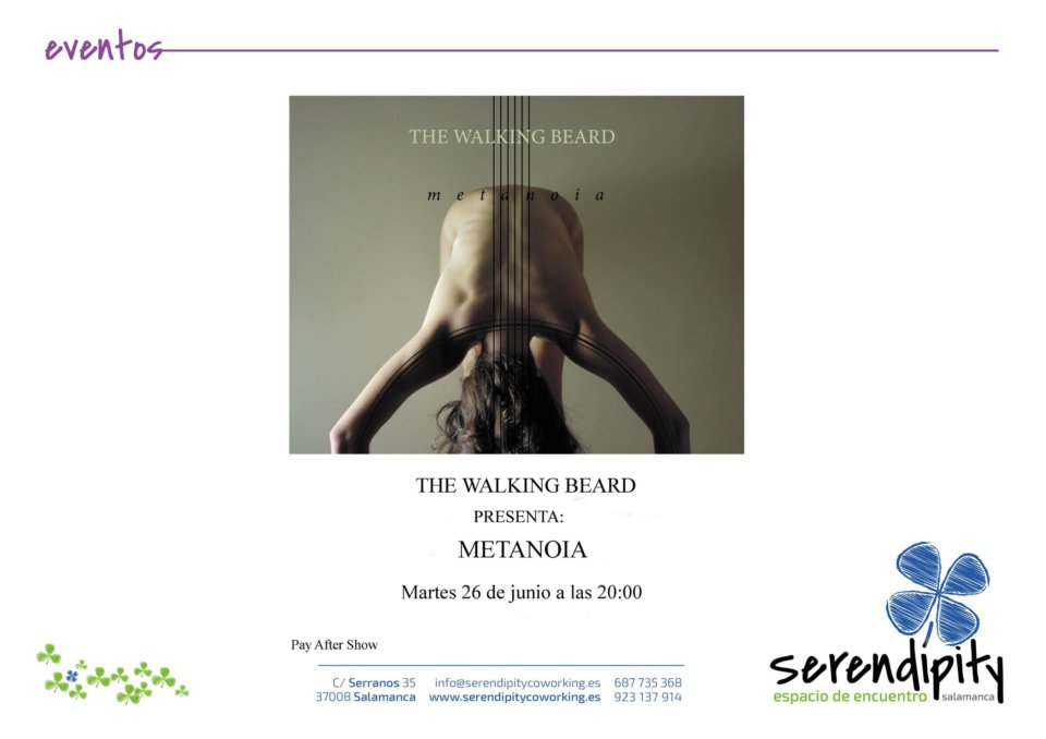 Serendípity The Walking Beard Salamanca Junio 2018