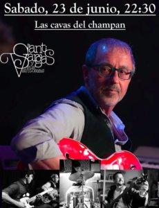 Las Cavas del Champán Santi Vargas y sus Síntomas Salamanca Junio 2018