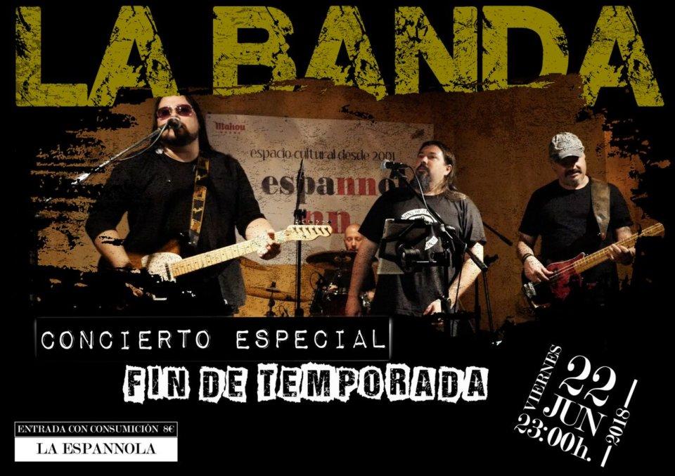 La Espannola La Banda Salamanca Junio 2018