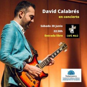 Café Milú David Calabrés 30 de junio de 2018 Salamanca