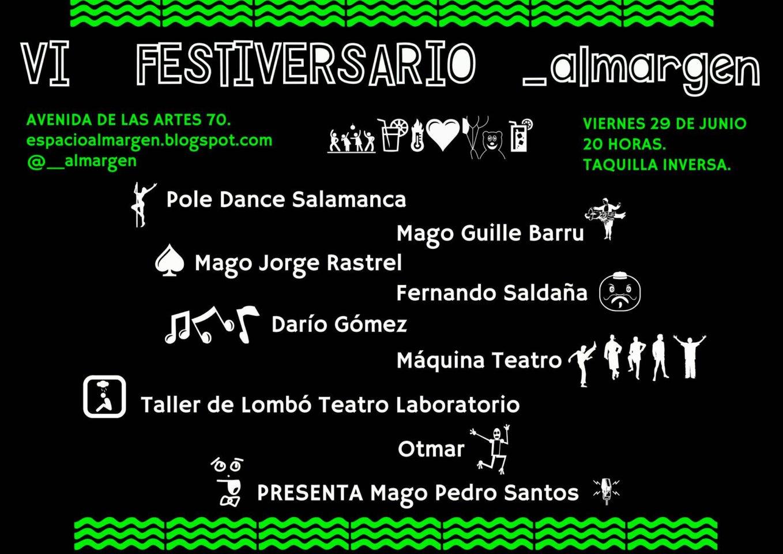 Espacio Almargen IV Festiversario Salamanca Junio 2018