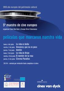 Cines Van Dyck V Muestra de Cine Europeo Salamanca Junio 2018