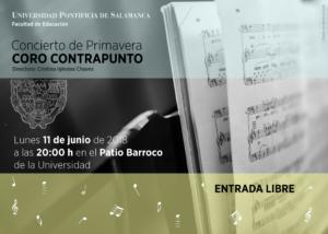 Patio Barroco Coro Contrapunto Salamanca Junio 2018