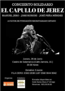 Casino de Salamanca El Capullo de Jerez Junio 2018