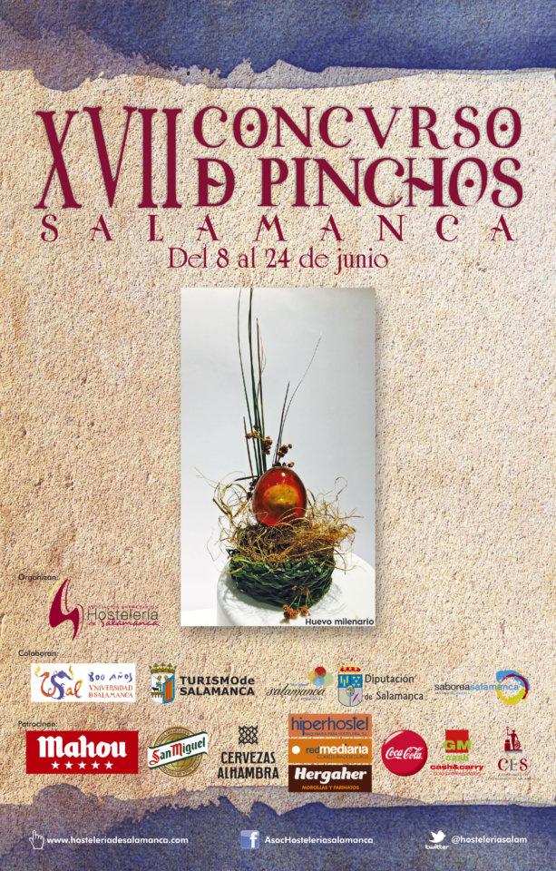 XVII Concurso de Pinchos Salamanca Junio 2018