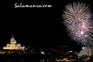 Fiestas de San Juan Fuegos Artificiales Salamanca Junio 2018