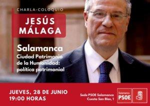 Salamanca Jesús Málaga PSOE Junio 2018