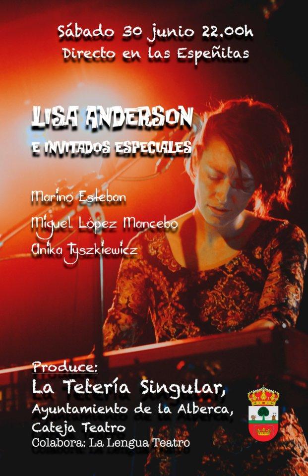 La Alberca Lisa Anderson Junio 2018