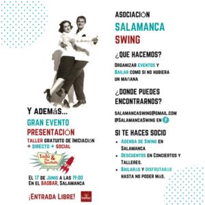 Baobar Asociación de Baile Salamanca Swing Junio 2018