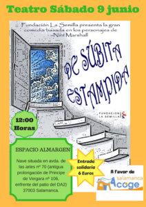 Espacio Almargen De súbita estampida Salamanca Junio 2018