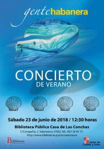 Casa de las Conchas Gente Habanera Salamanca Junio 2018