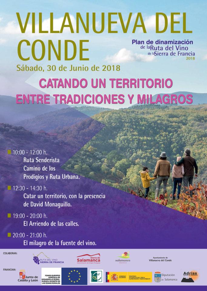 Villanueva del Conde Catando un territorio entre tradiciones y milagros Junio 2018
