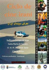 Auditorio Enrique de Sena Ciclo de Cine Iraní Santa Marta de Tormes Junio 2018