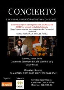 Casino de Salamanca Gala Solidaria Junio 2018