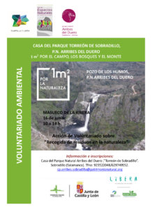 Masueco Recogida de Residuos en la Naturaleza Junio 2018