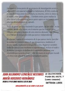 La Salchicheria Oeste 7 Ojos y vanos Salamanca Junio julio 2018