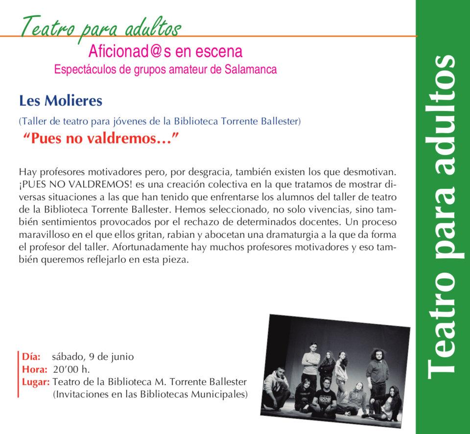 Torrente Ballester Pues no valdremos... Salamanca Junio 2018