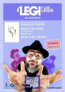 Tío Vivo Legi y Los Legi Salamanca Julio 2018