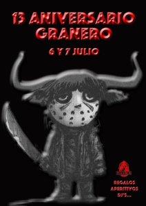Bar Granero XIII Aniversario Salamanca Julio 2018