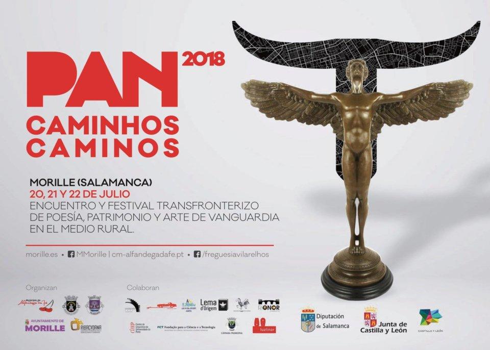 Morille XVI Encuentro y Festival Transfronterizo de Poesía, Patrimonio y Arte de Vanguardia en el Medio Rural Julio 2018.
