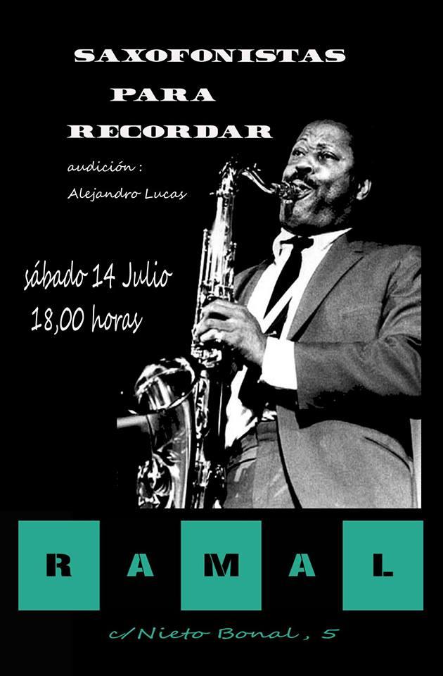 Ramal Saxofonistas para recordar Salamanca Julio 2018