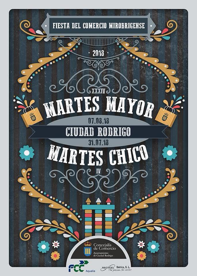 Ciudad Rodrigo Martes Chico + Martes Mayor 2018
