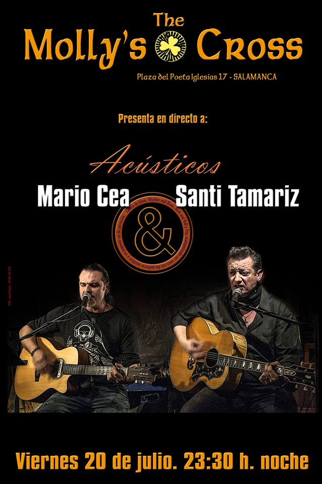 The Molly's Cross Mario Cea & Santi Tamariz Salamanca Julio 2018