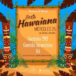 Palacio de San Esteban Fiesta Hawaiana Salamanca Julio 2018