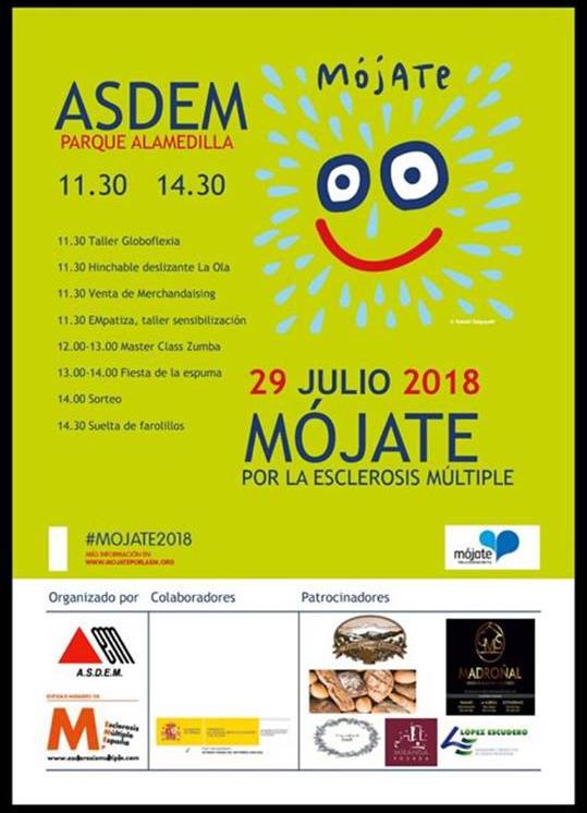 La Alamedilla Mójate por la Esclerosis ASDEM Salamanca Julio 2018