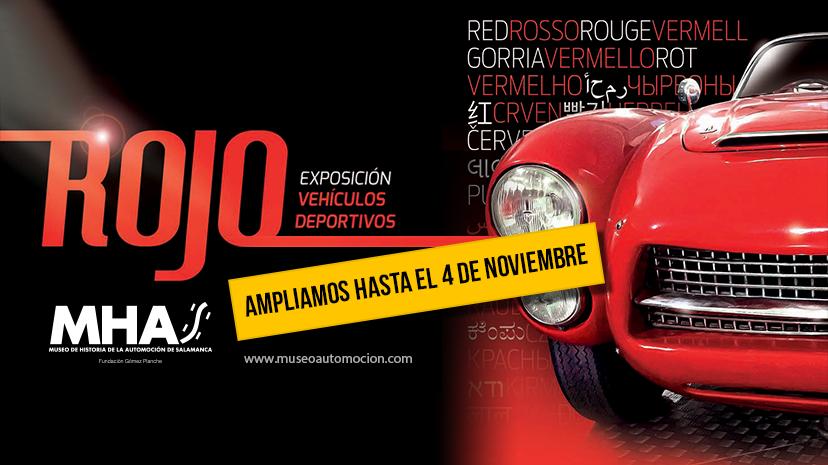 Museo de Historia de la Automoción de Salamanca MHAS Rojo 2018
