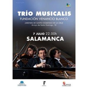 Sala de Exposiciones Santo Domingo de la Cruz Trío Musicalis Plazas y Patios Salamanca Julio 2018