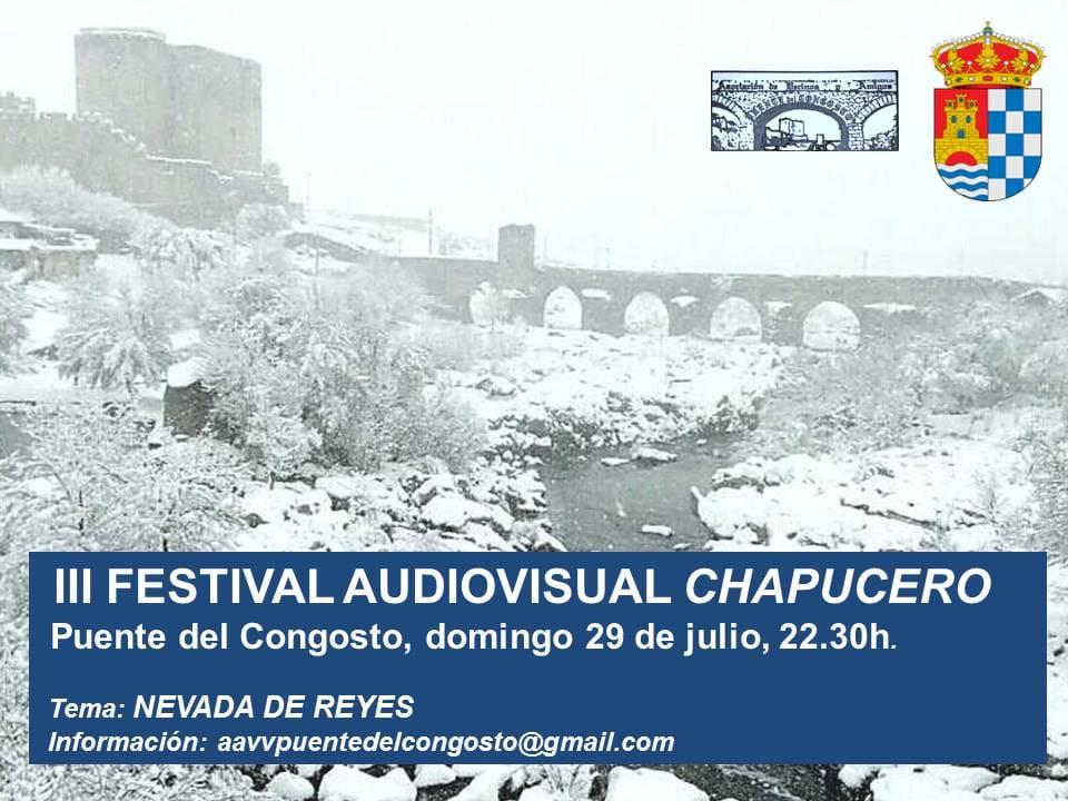 Puente del Congosto III Festival Audiovisual Chapucero Julio 2018