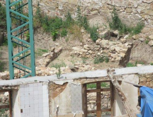 Ciudadanos por la Defensa del Patrimonio solicita protección integral para los restos arqueológicos descubiertos junto al Palacio de Monterrey.